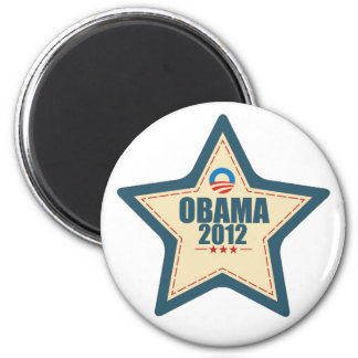 Barack Obama 2012 Star Vote Magnet