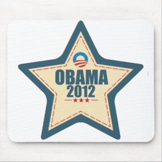 Barack Obama 2012 Star Vote Mouse Pad