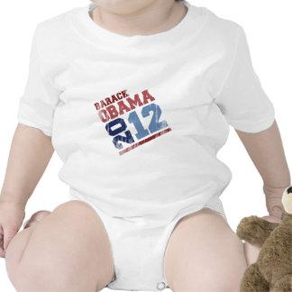 BARACK OBAMA 2012 SWAY Vintage png Baby Bodysuits