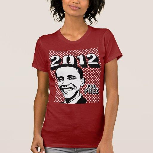 Barack Obama 2012 T Shirts