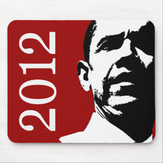 Barack Obama 2012 Alfombrilla De Raton