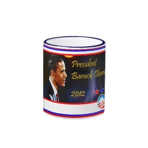 Barack Obama 2012 Taza De Café