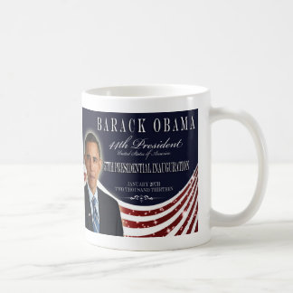 Barack Obama 2013 Inauguration Commemorative Mug