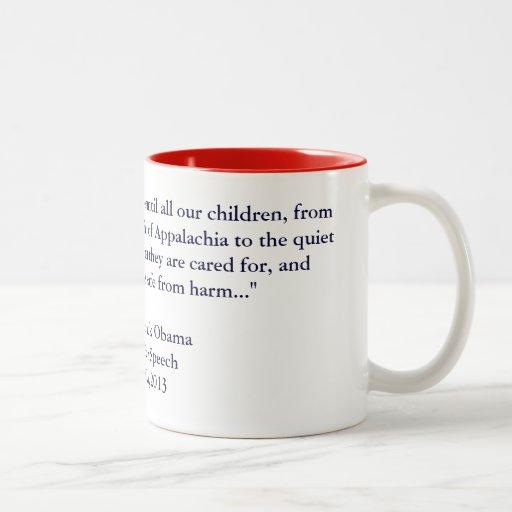 Barack Obama 2013 Inauguration Speech Coffee Mug