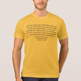 Barack Obama - 2013 Inauguration Speech T-Shirt
