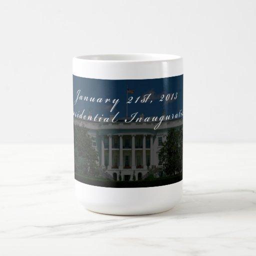 Barack Obama 2013 Presidential Inauguration Classic White Coffee Mug