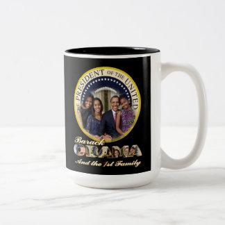 Barack Obama 2013 Presidential Inauguration Two-Tone Coffee Mug