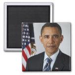 Barack Obama 2 Inch Square Magnet