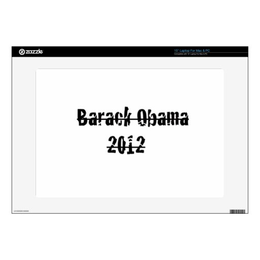 Barack Obama 38,1cm Portátil Calcomanías