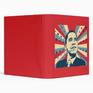 Barack Obama 3 Ring Binder