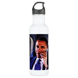 BARACK OBAMA, 44TH AMERICAN PRESIDENT jug Stainless Steel Water Bottle