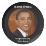 Barack Obama 44th President Keepsake Gift Plate