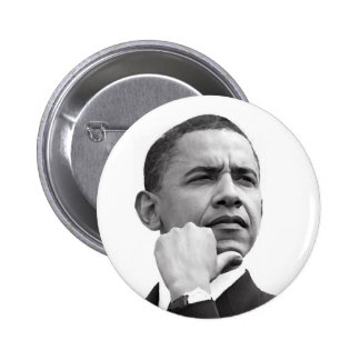 BARACK OBAMA, 44TH PRESIDENT OF THE UNITED STATES 2 INCH ROUND BUTTON