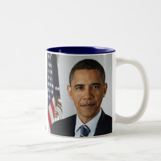 BARACK OBAMA  44th President of the United States Two-Tone Coffee Mug