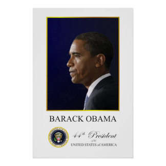Barack Obama - 44th President Poster