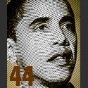 Barack Obama 44th US President - inauguration shirt