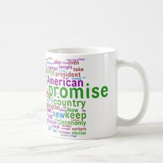 Barack Obama Acceptance Speech Coffee Mugs