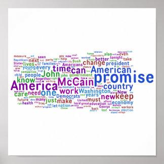 Barack Obama Acceptance Speech Print