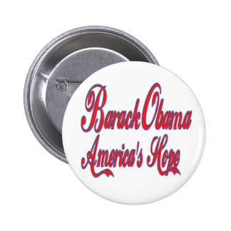 Barack Obama America's Hope Button