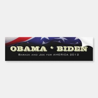 Barack Obama and Joe Biden Campaign Bumper Sticker Car Bumper Sticker