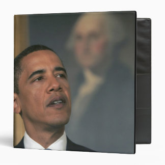 Barack Obama announce his intent to nominate 3 Ring Binder