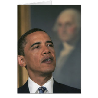 Barack Obama announce his intent to nominate Card