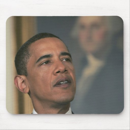 Barack Obama announce his intent to nominate Mouse Pad