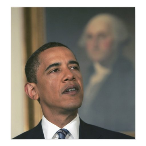 Barack Obama announce his intent to nominate Photo Print