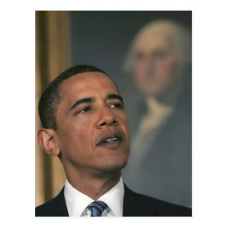 Barack Obama announce his intent to nominate Postcard