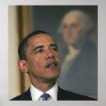 Barack Obama anuncia su intento para nombrar Póster