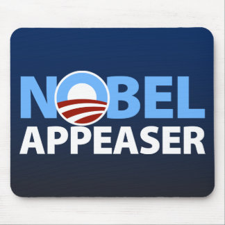 Barack Obama: Aplacador Nobel Alfombrilla De Ratones