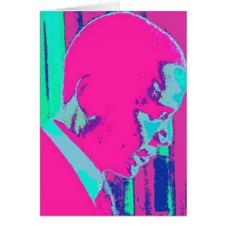 Barack Obama Art print Card