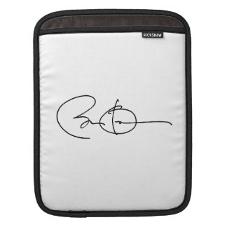 BARACK OBAMA AUTOGRAPH -.png Sleeves For iPads