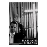 Barack Obama B&W Posters