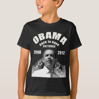 Barack Obama Back-to-Back Victory Items T-Shirt