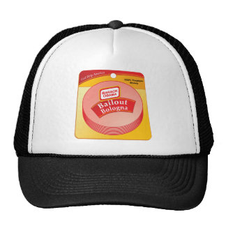Barack Obama - Bailout Bologna Trucker Hat