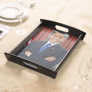 Barack Obama Bandejas