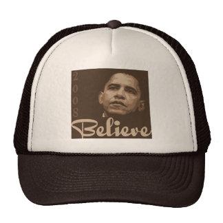 Barack Obama Believe Hat
