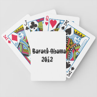barack obama bicycle playing cards