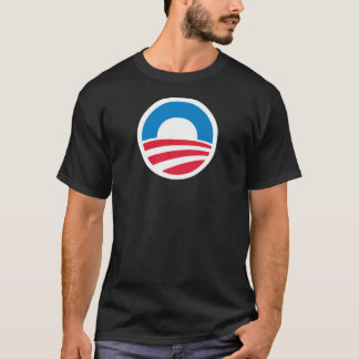 """Barack Obama Biden """"O"""" Logo T-Shirt"""