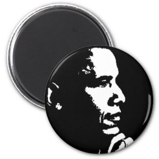 Barack Obama Black & White Profile Magnet