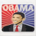 Barack Obama Bold Mouse Pads