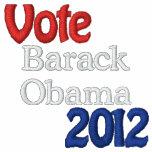 Barack Obama bordó las chaquetas Sudadera Bordada Con Capucha