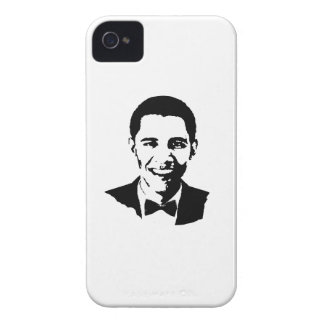 BARACK OBAMA BOWTIE -.png Case-Mate iPhone 4 Cases