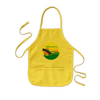 Barack Obama California Rainbow Kids' Apron