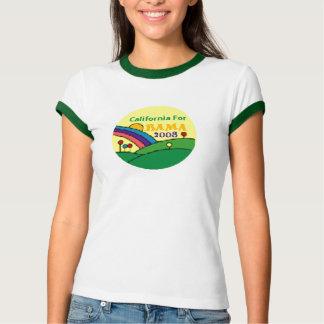 Barack Obama California Rainbow Shirt