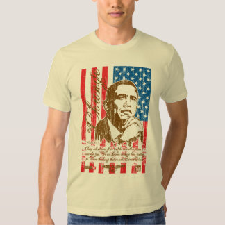 Barack Obama - cambie (el vintage) Playera