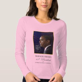 Barack Obama - camiseta de manga larga grande de Playeras