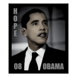 Barack Obama Campaign for Hope Posters