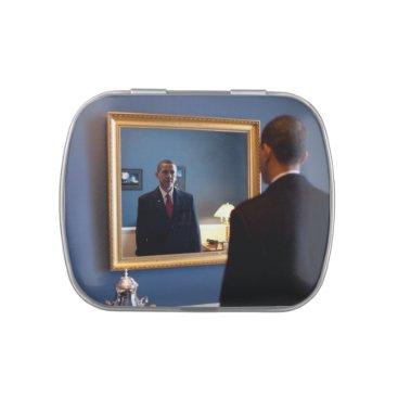 USA Themed Barack Obama Candy Tin